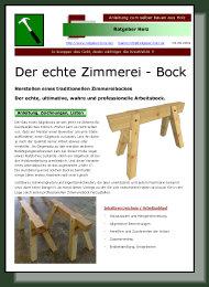 zimmereibock den echten zimmererbock selber bauen. Black Bedroom Furniture Sets. Home Design Ideas